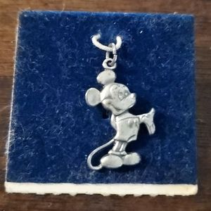 Vintage Sterling Silver Mickey Mouse Charm